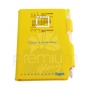 Pocket Calendra Equarl สีเหลือง